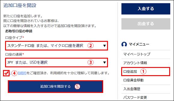 is6com追加口座